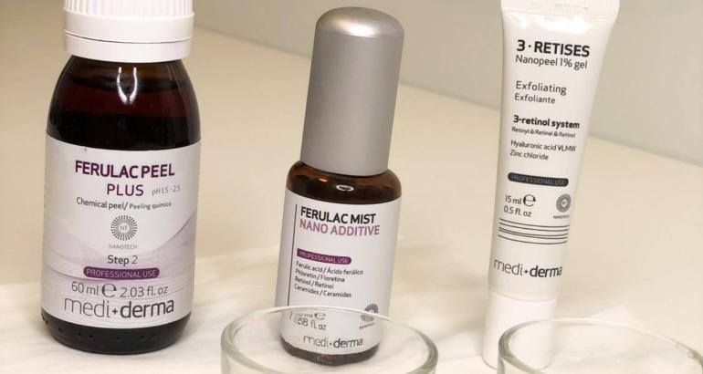 Ferulac Peel Plus to nowej generacji nanopeeling chemiczny opracowany w nanotechnologii