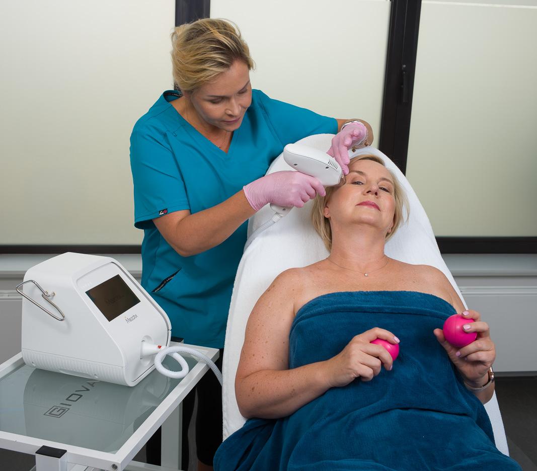 mezotix odmładzanie skóry, odmładzanie okolicy oka